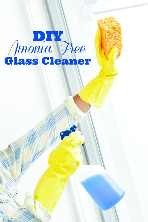 DIY Ammonia Free Glass Cleaner