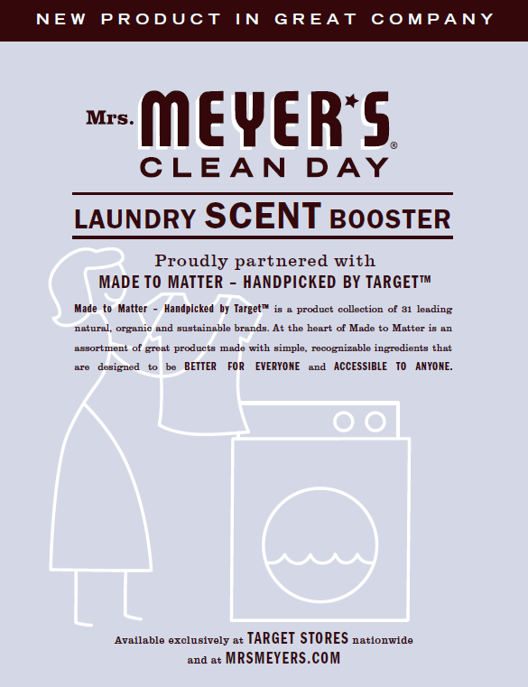 Mrs. Meyer's Clean Day Scent Boosters