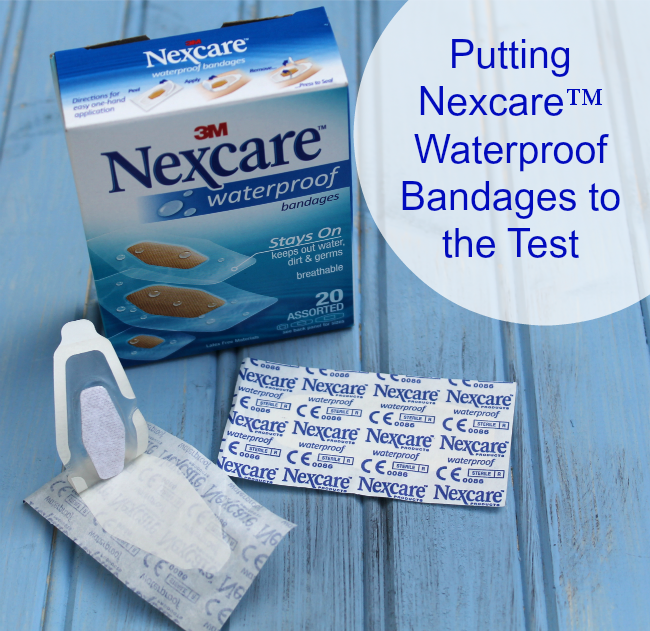 Putting Nexcare™ Waterproof Bandages to the Test