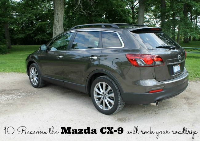 10 reasons the Mazda CX-9 will rock your roadtrip