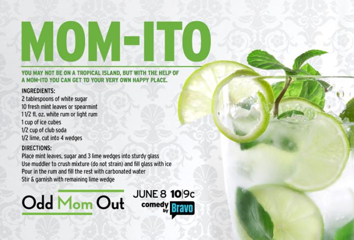 Odd Mom Out Momito Cocktail recipe