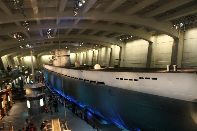 U-505 Submarine
