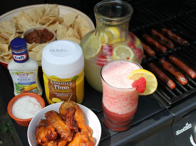 Fire up the grill with Kraft