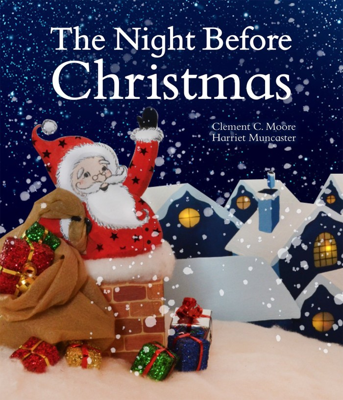 The Night Before Christmas illustrated by Harriet Muncaster