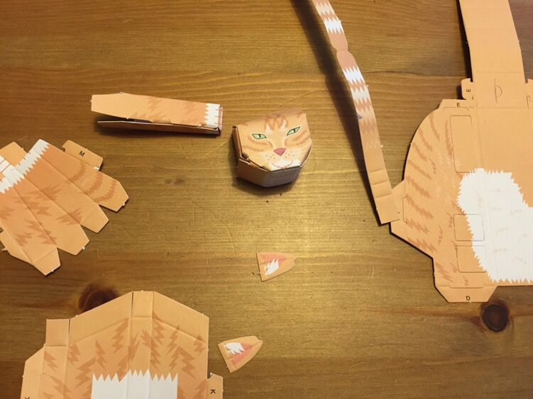 Papermade Paper Cats