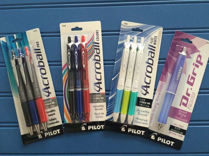 Review of Pilot Pens from Shoplet