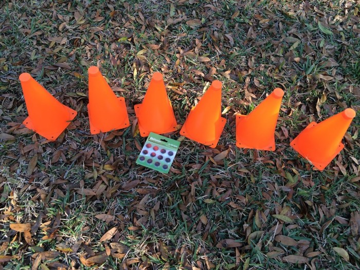 GoSports LED Light Up Sports Cones (6 Pack)