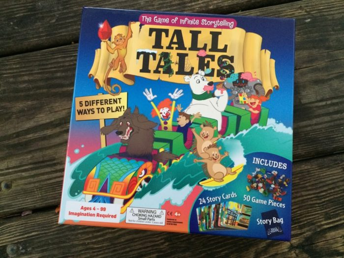 Review of Tall Tales Board Game
