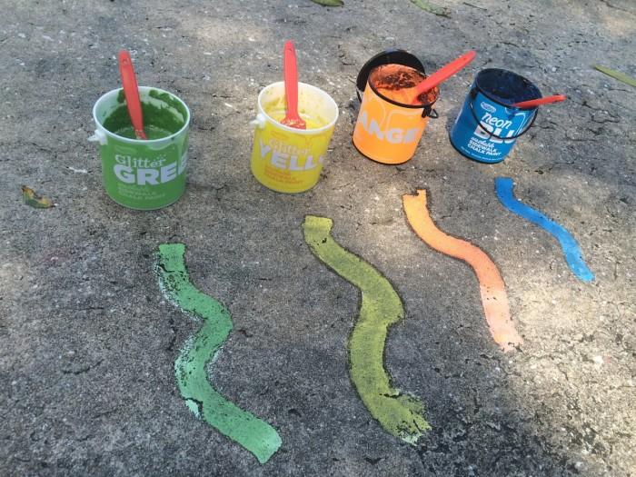RoseArt Washable Sidewalk Chalk Paints