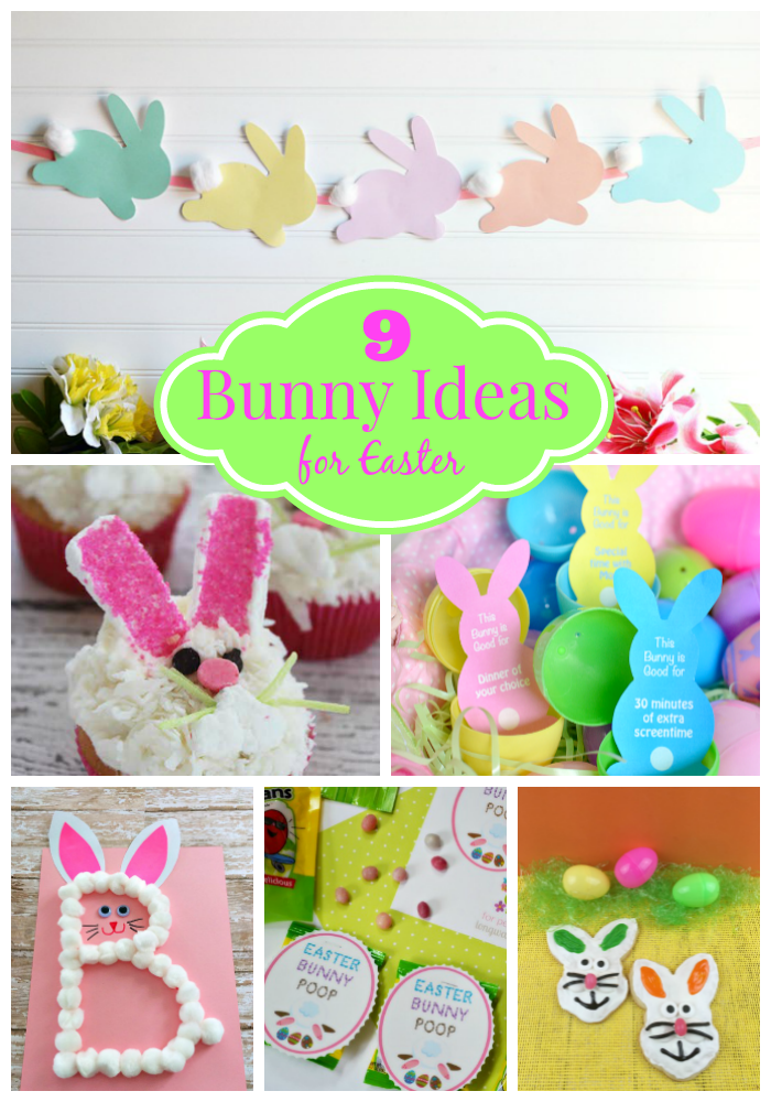 9 Bunny Ideas for Easter