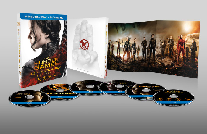 THE HUNGER GAMES COMPLETE 4-FILM COLLECTION BLU-RAY / DVD SPECIAL FEATURES*