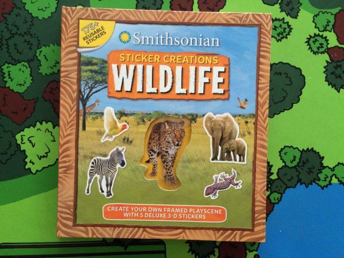 Smithsonian Sticker Creations: Wildlife Author: Kaitlyn DiPerna