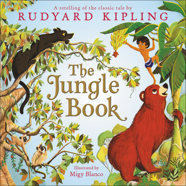 The Jungle Book Review : The Jungle Book by Rudyard Kipling, Laura Driscoll illustrated by Migy Blanco