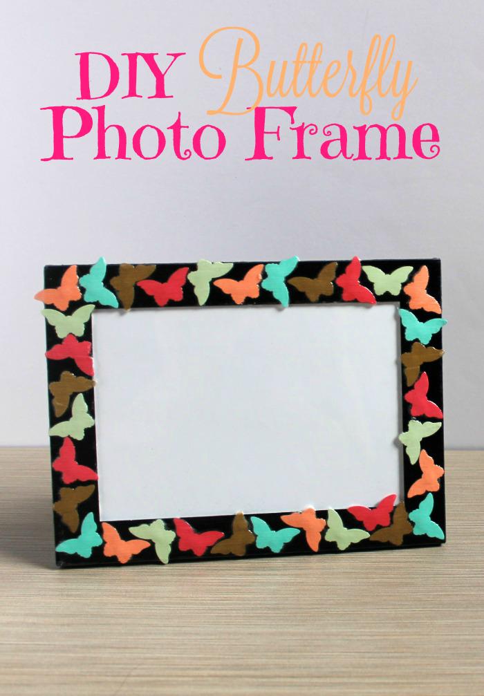 DIY Butterfly Photo Frame