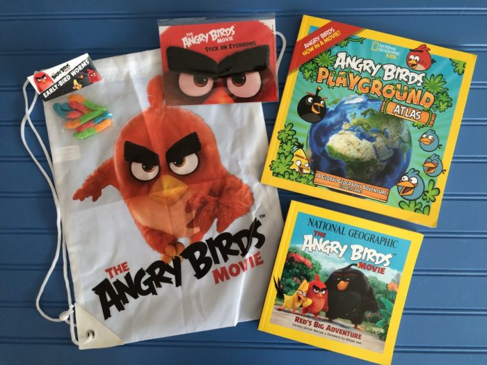 The Angry Birds book & Movie Prize Pack Giveaway