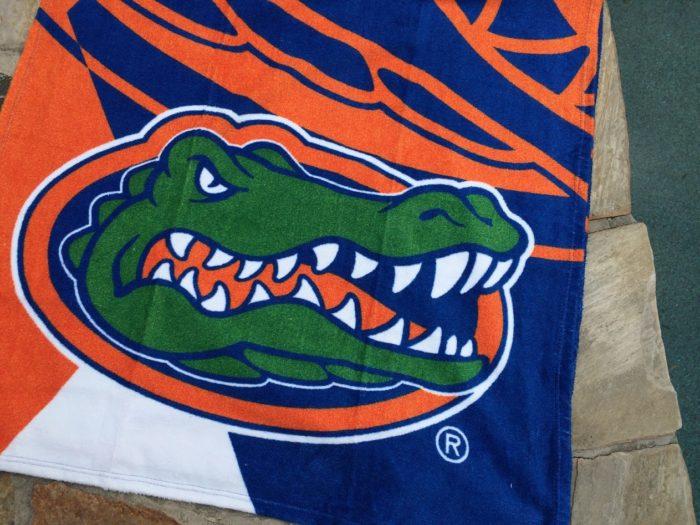 Florida Gator Beach Towel.