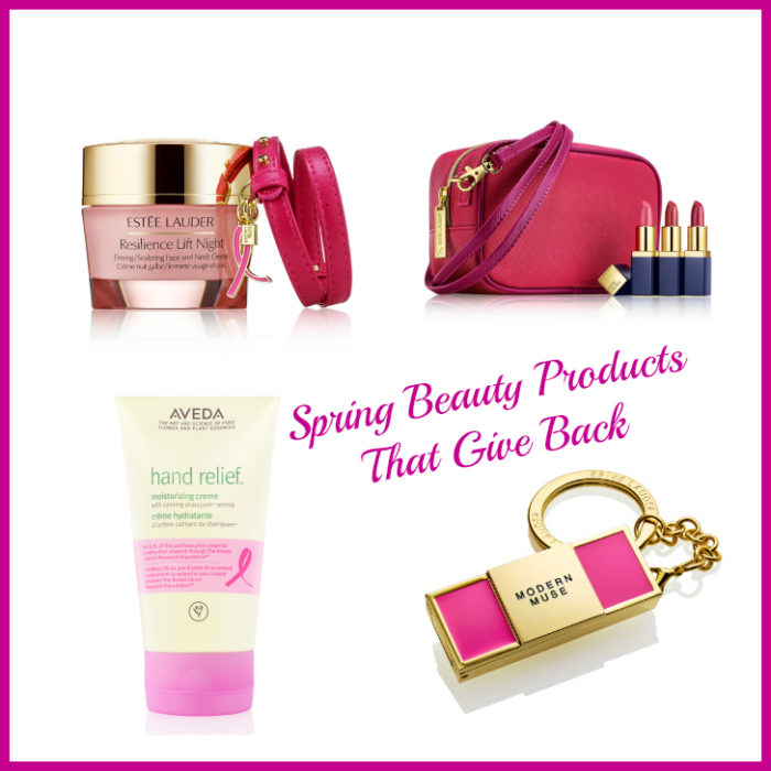 Spring Beauty Products That Give Back from The Est?e Lauder Companies? Breast Cancer Awareness Campaign