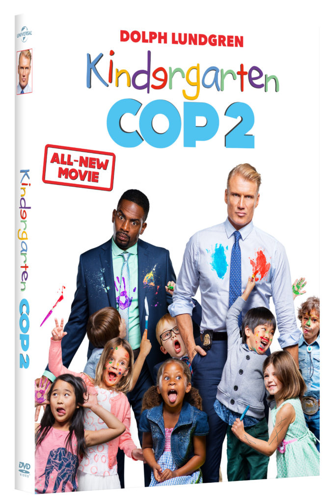 Kindergarten Cop 2 Now Out on DVD