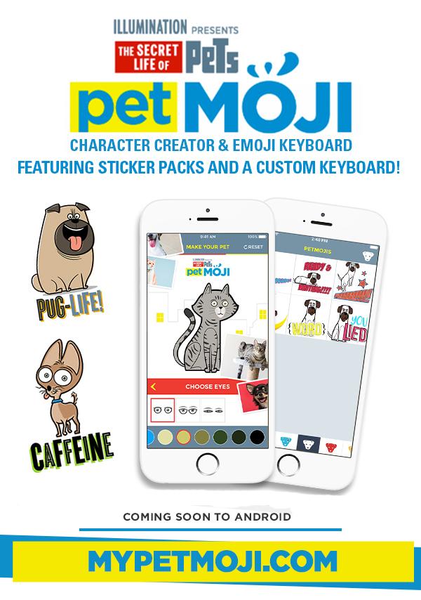 PetMOJI app