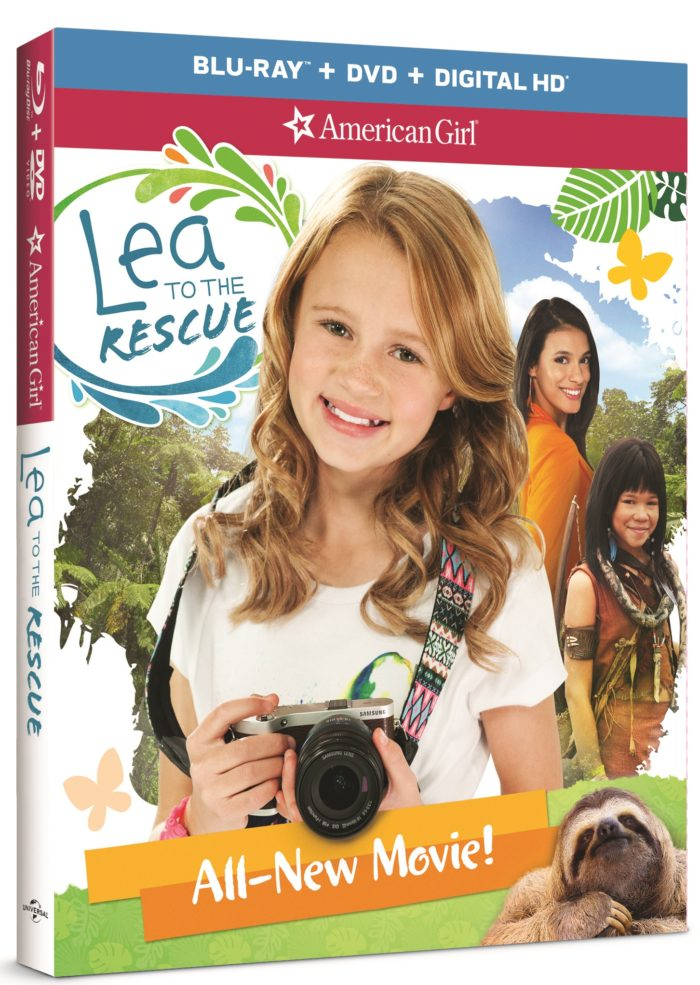 American Girl Lea to the Rescue on Blu-ray Combo Pack