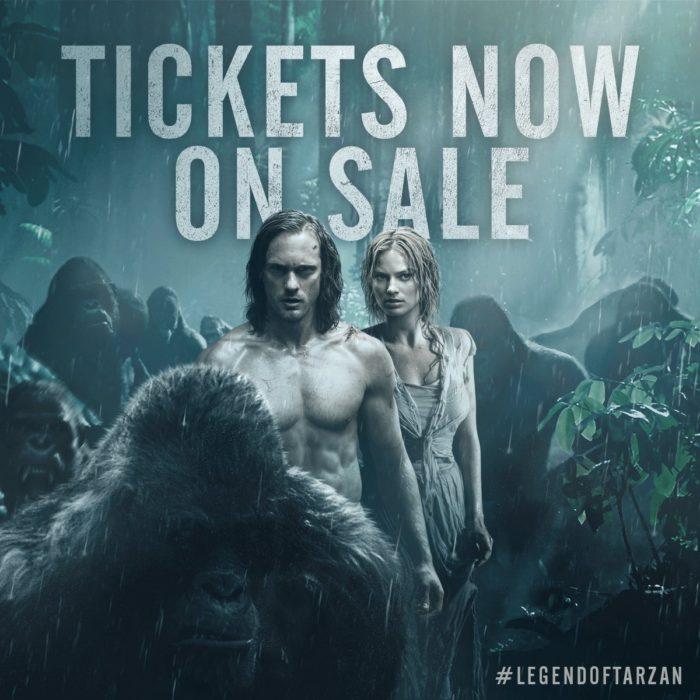 Buy The Legend of Tarzan Tickets