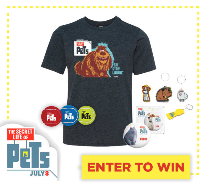 The Secret Life of Pets Prize Pack Giveaway