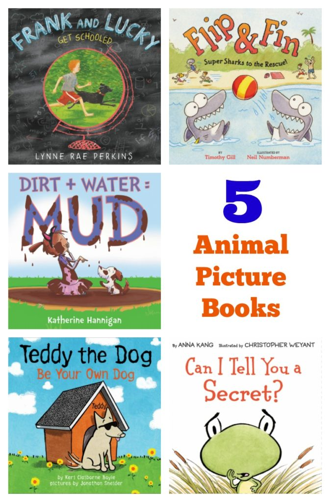 5 Animal Picture Books For Summer