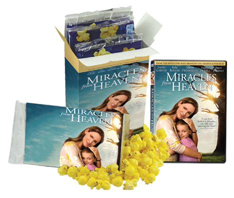 Miracles From Heaven Family Movie Night prize pack