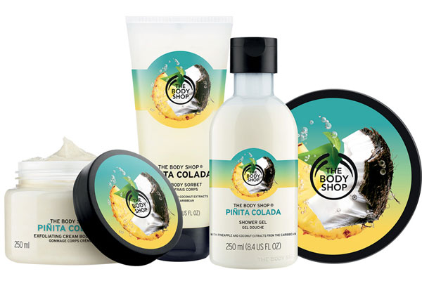 The Body Shop: Limited Edition Pinita Colada Collection
