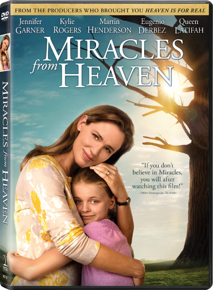 Miracles From Heaven on Blu-ray & DVD + Prize Pack Giveaway
