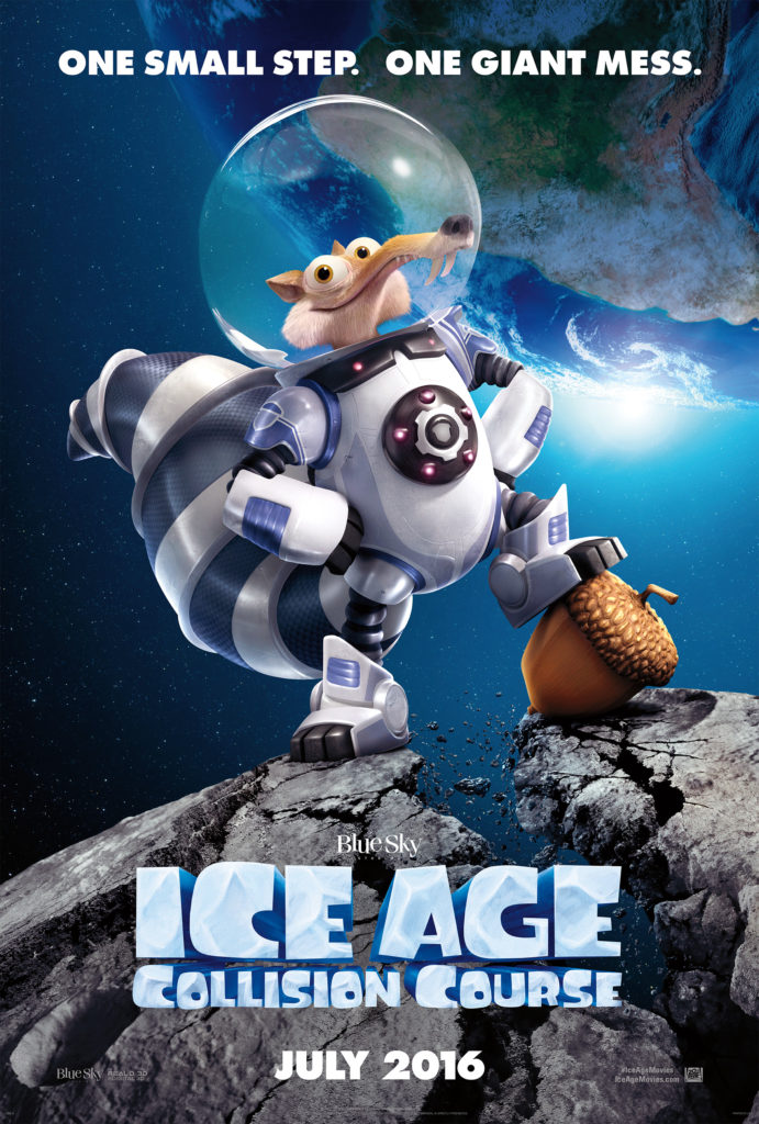 Ice Age: Collision Course In Theaters July 22nd