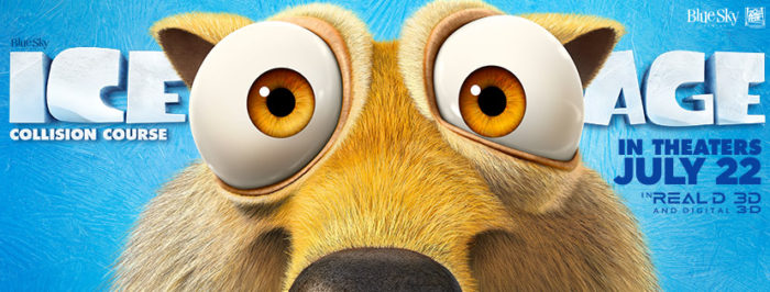 Ice Age Collision Course In Theaters July 22nd