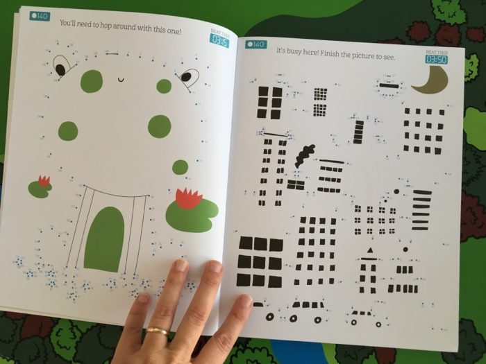 Challenging Dot-To-Dot Activity Book For Big Kids!
