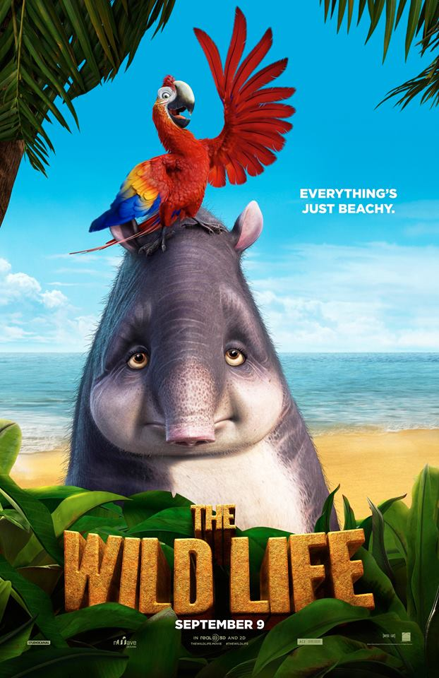 The WIld Life Character Poster
