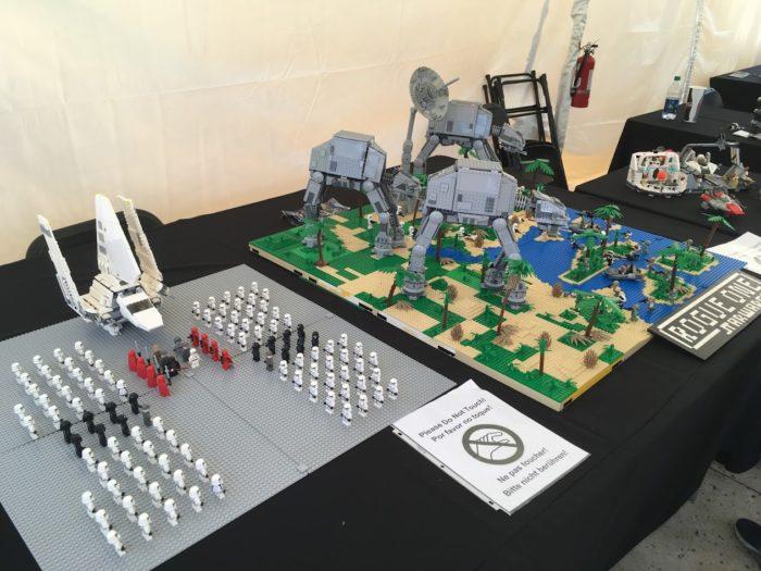 Star Wars Miniland Model Display