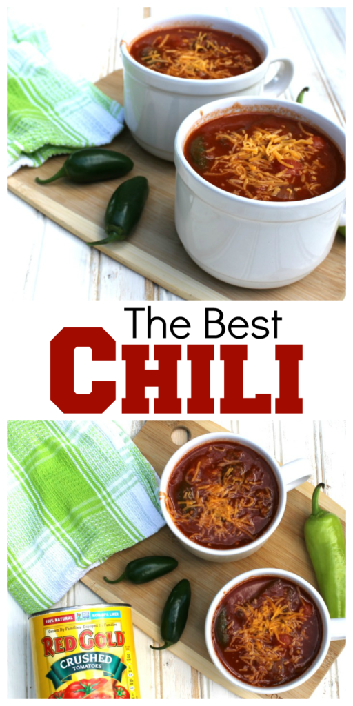 The Best Chili Recipe ever