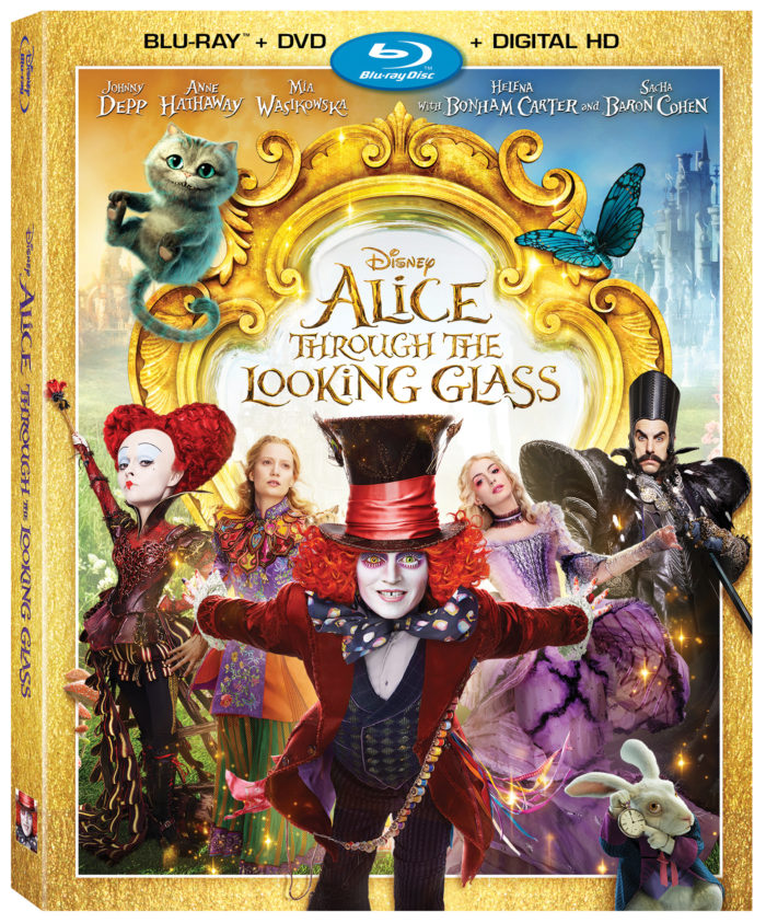 Alice Through The Looking Glass Now on Blu-ray + DVD