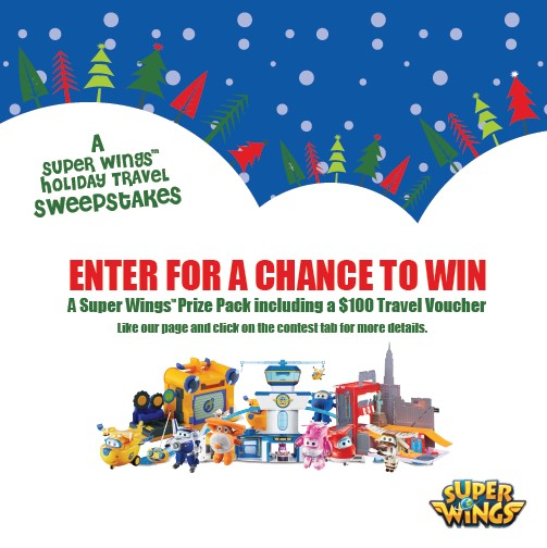 Super Wings Holiday Travel Sweepstakes