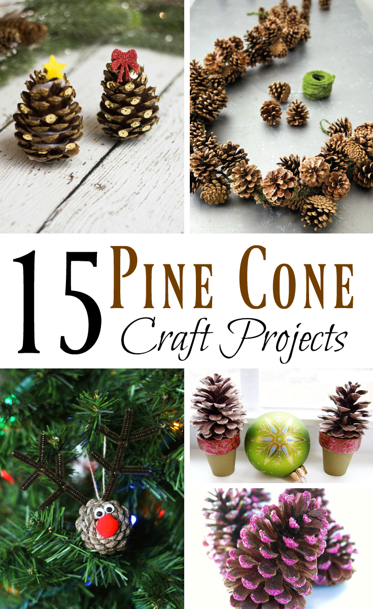 15 Pine Cone Craft Projects Outnumbered 3 To 1