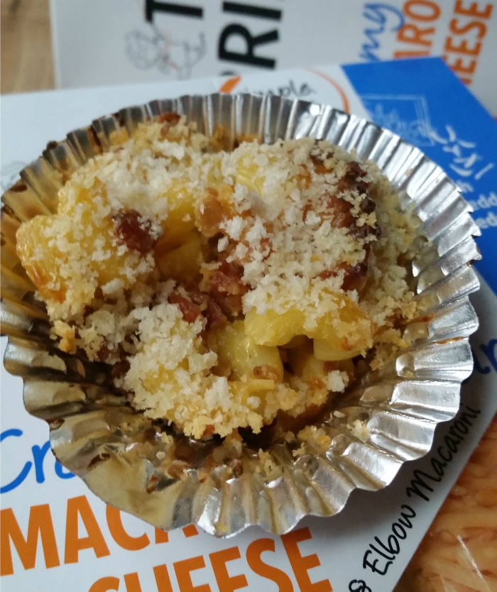 Easy Bacon Mac & Cheese Cups Recipe