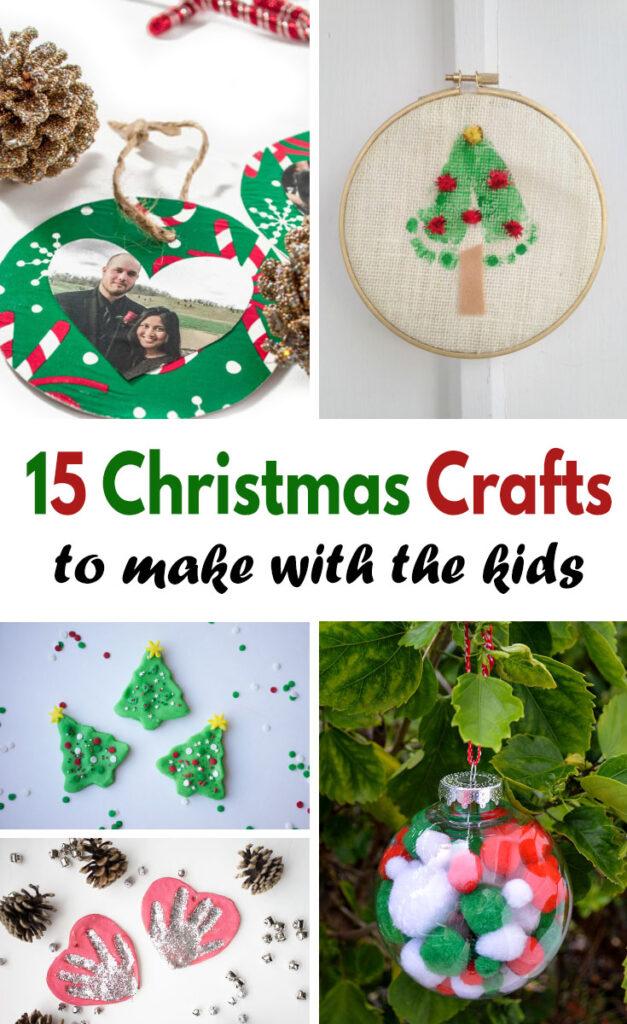 15 Kids Christmas Crafts