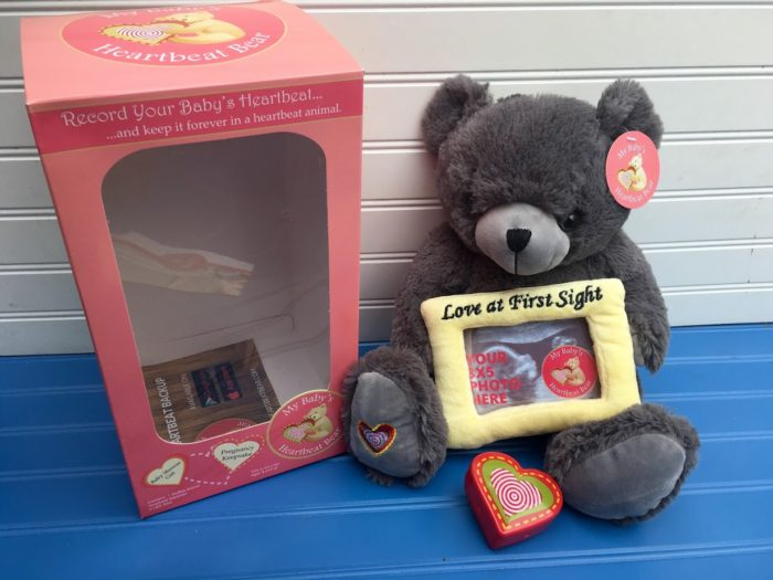 My Baby's Heartbeat Bear is the PERFECT Keepsake For a Pregnant Mom