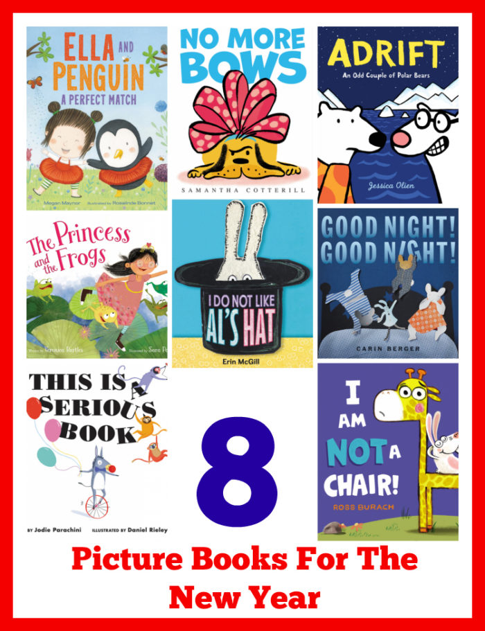 8 Picture Books For The New Year