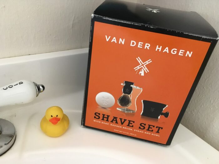 Keep Your Man Well Groomed this Valentine's Day with a Van der Hagen Shave Set