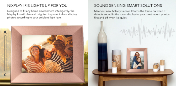 An AWESOME Tech Gift For Valentine's Day is a Nixplay Iris Photo Frame
