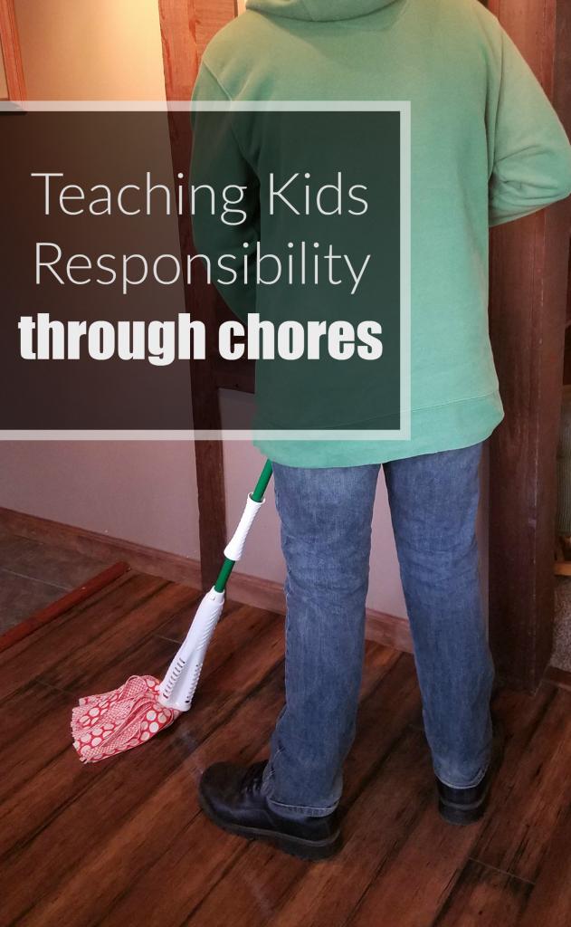 Teaching Kids responsibility through Chores