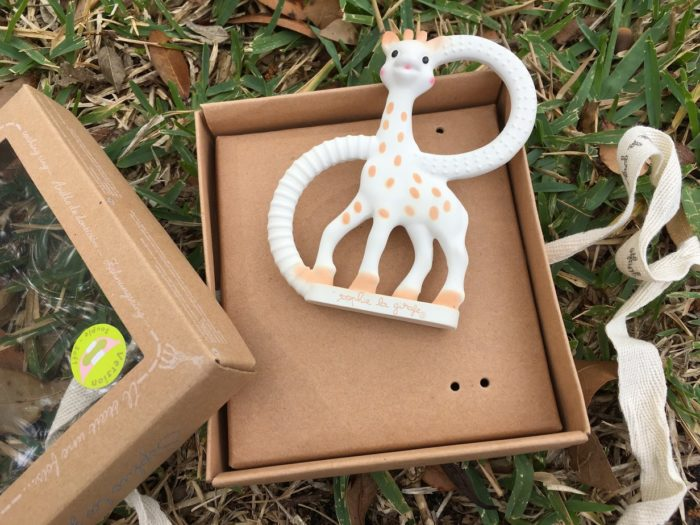 Fill Baby's Easter Basket With Sophie the Giraffe Goodies