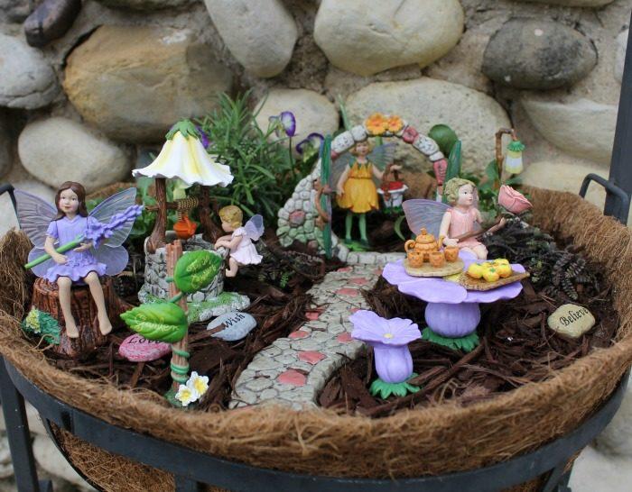 Two Ways to Make a Fairy Garden