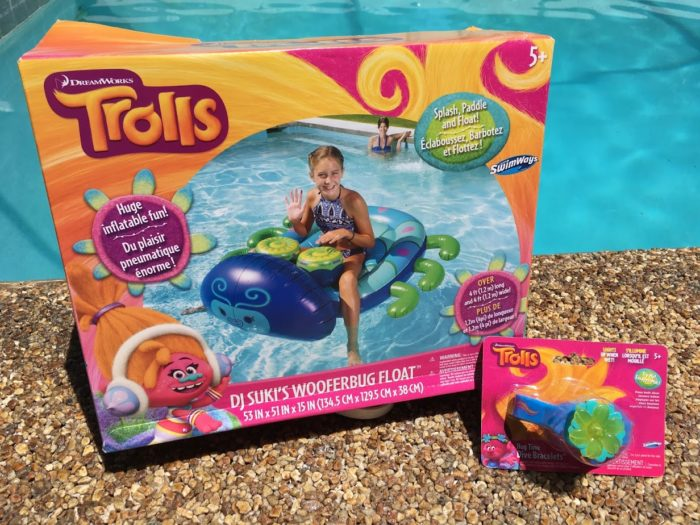 Trolls has Moved From the Big Screen to the Pool With SwimWays!