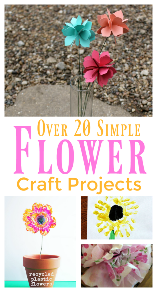 Simple Flower Craft Projects